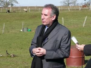 François Bayrou en Haute-Vienne